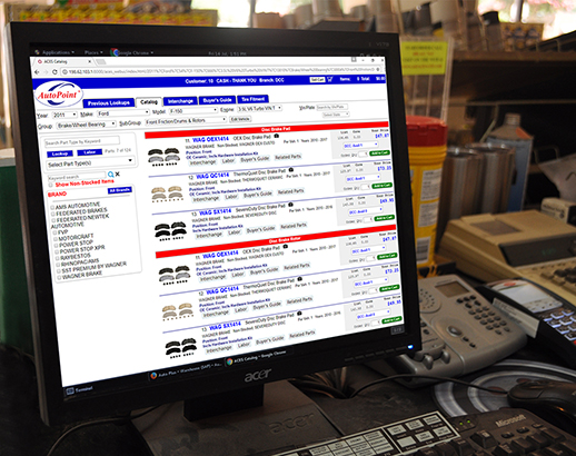 Autoparts Aftermarket Software